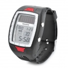 Sports Solar Power Diving Wrist Watch w/ EL Backlit / Week / Stopwatch / Alarm Clock (1 x CR2025)