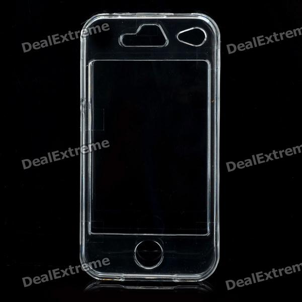 Stylish Transparent PC Case Cover for Iphone 4/4S - Transparent