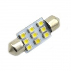 35mm 0.18Wx9 White Light 9-SMD 5050 LED Car Reading Light (DC 12V / Pair)