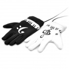 Electronic Piano Gloves - Black + White (4 x AAA)