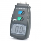 "2.1"" LCD Digital Wood Moisture Meter Damp Tester - Dark Grey (4-Pin / 1 x 9V/6F22)"