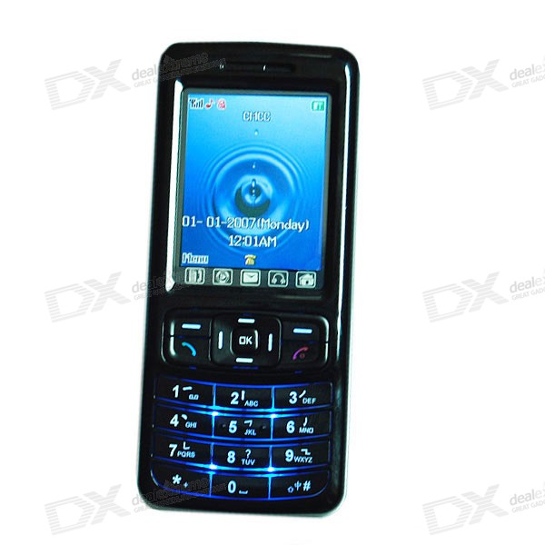 CECT C1000+ 2-inch Touch Screen LCD Dual-Band GSM Cell Phone *Free