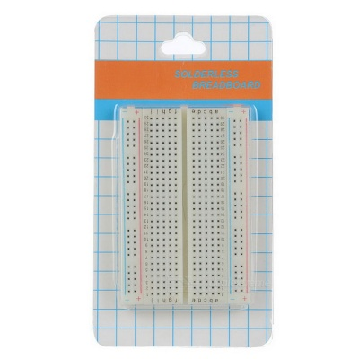 Lötloses Breadboard mit 400 Tie-Point (Weiß)