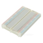 Solderless Breadboard with 400 Tie-Point (White)