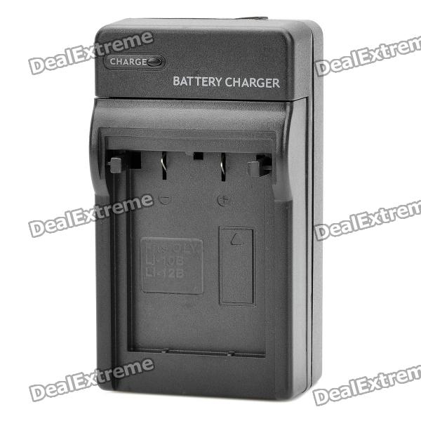Digital Camera Battery Charger for OLYMPUS LI-10B / LI-12B / DBL10 (100~240V)
