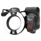 Linkstar L2R-100 5500K White LED Macro Ring Flash for DSLR Camera (4 x AA)