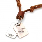 Fashion Cool Punk Style Pendant Necklace (1922 Dual Plate Theme)