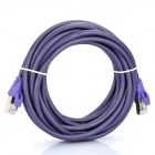MILLIONWELL Nickel Plated RJ45 to RJ45 Network Cable - Purple (5M-Cable Length)