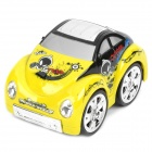 49MHz 4-CH R/C Remote Control 360 Degree Revolving Stunt Car Toy with Light Effects - Yellow