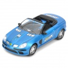 Cool Racing Car Toy with Music & Light Effects - Blue (4 x AA)