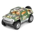 Cool Go-anywhere Vehicle Dance Car Toy Model with Sound & Lights - Army Green (3 x AA)
