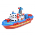 Cool Speed Boat Model Toy - Red + Blue + White (3 x AA)