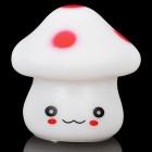 Cute Mushroom Style Decorative LED Light with Multi-Color Changing Light (3 x AG13)