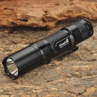 UltraFire U20S XM-L T6 3-Mode 390LM Memory White LED Flashlight w/ Clip - Black (1 x AA/14500)