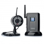 2.4GHz Digital Wireless Security Camera Kit with 30-LED IR Night Vision