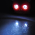 Panda Shaped LED 3-Mode Bike White Light - Red (Pair / 2 x CR2032)