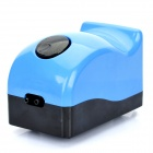 AP-9802 3W Aquarium Fish Tank Air Pump - Blue + Black (220V)
