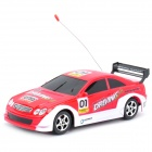 40MHz R/C Car Model Toy - Red (4 x AA / 2 x AA)