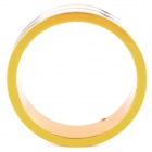 D09 Aluminum Alloy Bicycle CNC Front Fork Washer - Golden + White (28.6mm)