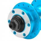 QUANDO Sealed Bearing Hubs w/ Quick Release Skewers for Mountain Bike - Blue (KT-MD4F / MD7R)