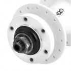 QUANDO Sealed 32H Bearing Hubs w/ Quick Release Skewers for Mountain Bike - White (KT-MD4F / MD7R)
