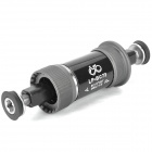 LP-BC73 Bike Bicycle Ball Bearing Bottom Bracket - Black (1.37x24T/68x113mm)