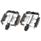Replacement Aluminum Alloy Bicycle Pedal - Black (Pair)