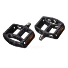 LP-910 Replacement Aluminum Alloy Bicycle Pedal - Black (Pair)