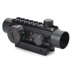 1*30 Reflex Laser Sight Rifle Scope (Red + Green Laser Configurable)