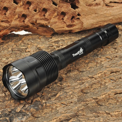 TrustFire TR-3T6 XM-L T6 5-Mode 2500lm Memory 3-LED White Flashlight