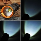 TrustFire Z3 5-Mode 860LM Memory White LED Zoom Convex Lens Flashlight w/ Strap (1 x 18650)