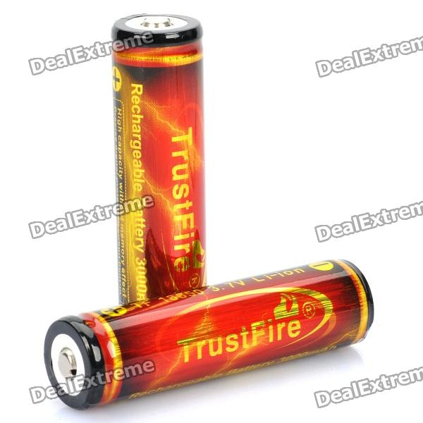 trustfire-protected-18650-37v-3000mah-rechargeable-li-ion-batteries-pair