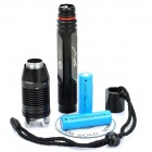 TrustFire TR-J2 910LM 4-Mode White LED Diving Flashlight w/ Strap (2 x 18650)