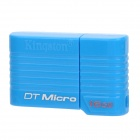 KINGSTON DT Micro USB 2.0 Flash Drive - Blue (16GB)