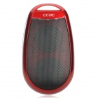 CCAC Q1 MP3-Player-Lautsprecher w / FM / TF / 3,5 mm Audio Jack - Red