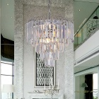 Modern Crystal Chain Pendant Lights