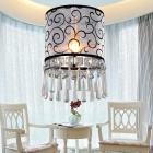 Cloth Art Crystal Pendant Lights
