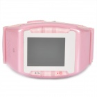 "N688 GSM Wrist Watch Phone w/1.3"" Resistive Screen, Quad-band, Bluetooth V2.0 and FM - Pink"