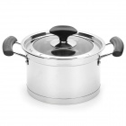 Stainless Steel Sauce Pan w/ Lid (2.8L)