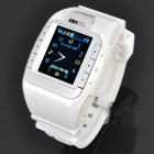 "N388 GSM Wrist Watch Phone w/ 1.3"" Resistive Touch Screen, Quad-band, Bluetooth V2.0 and FM"