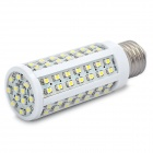 E27 5.76W 560-660LM 6000-7000K White 96-SMD 3528 LED Light Bulb (220V)