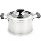 Stainless Steel Sauce Pan w/ Lid (3.7L)