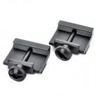 21mm to 11mm Dovetail Adapter - Black (Pair)