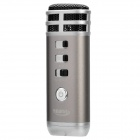 TEANA i9 Stylish Mini Portable KTV Singing Karaoke Player for Laptop / Cellphone - Coffee