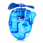 Portable Water Spray Fan with Carabiner Clip - Random Color (1 x AA)