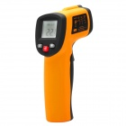 "1.2"" LCD Digital Infrared Thermometer - Orange + Black (1 x 6F22 9V)"
