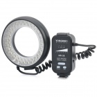 MR-58 5500K 58-LED-Weißlicht-Macro Ring Flash Light für Nikon / Canon DSLR-Kamera (2 x AA)
