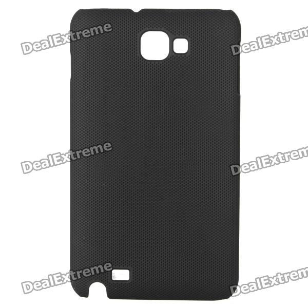 Protective ABS Back Case for Samsung Galaxy Note i9220 GT-N7000 - Black mhl docking station for samsung galaxy note i9220 black silver