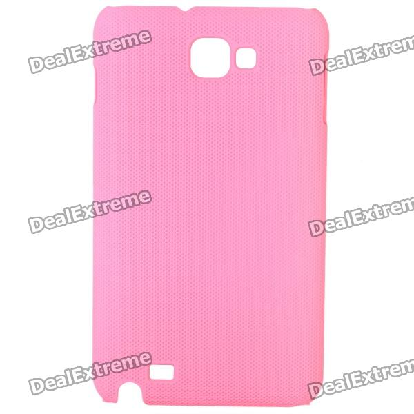Protective ABS Back Case for Samsung Galaxy Note i9220 GT-N7000 - Pink protective leather case screen protectors for samsung galaxy note i9220 gt n7000