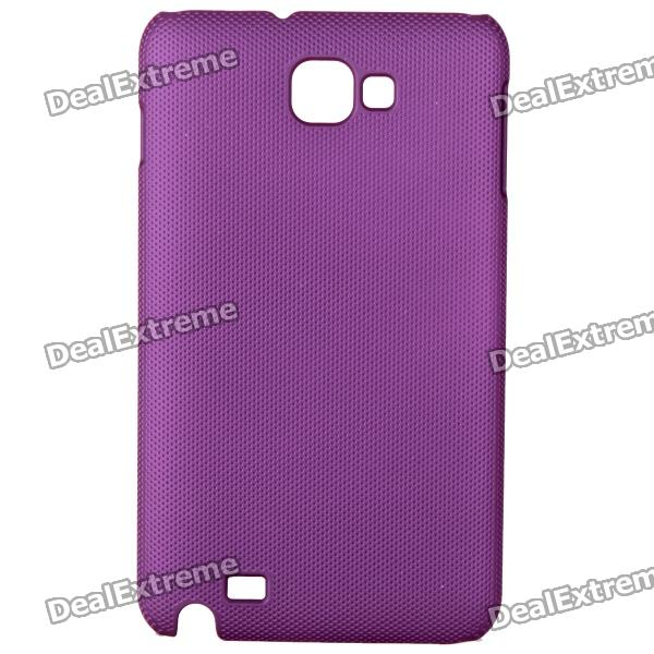 Protective ABS Back Case for Samsung Galaxy Note i9220 GT-N7000 - Purple protective leather case screen protectors for samsung galaxy note i9220 gt n7000